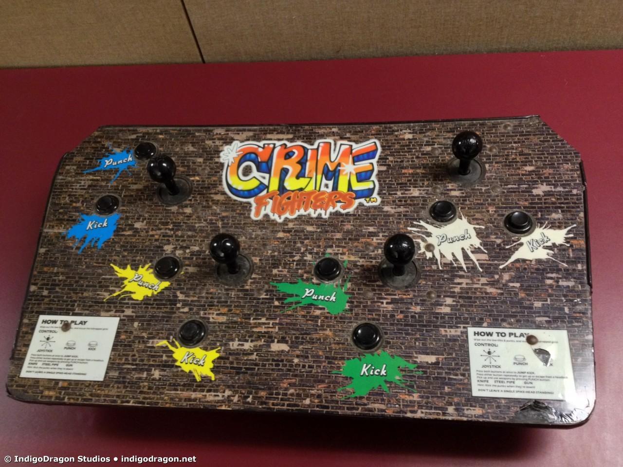 Control Panel Top Closeup
