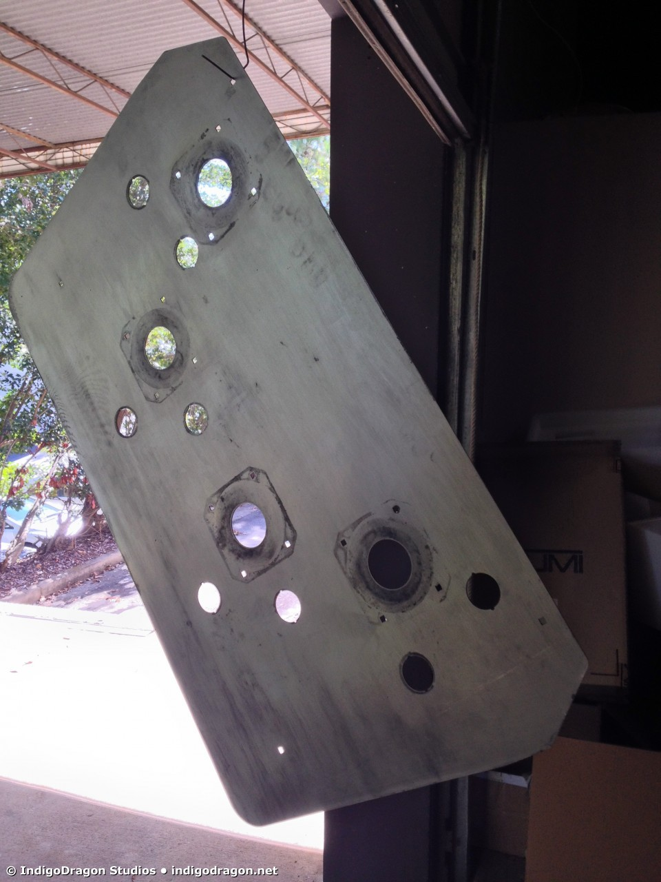 Control Panel Sanded 2