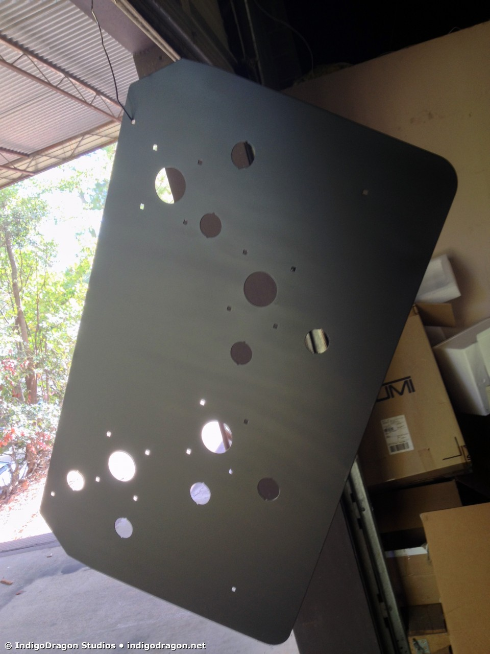 Control Panel Painting 2
