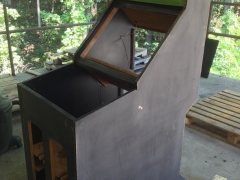 Sanding the Cabinet 3