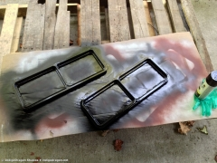 Door Frame Painting