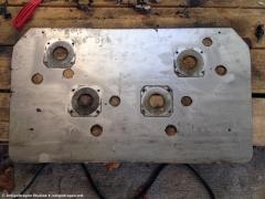 Control Panel Metal Bottom