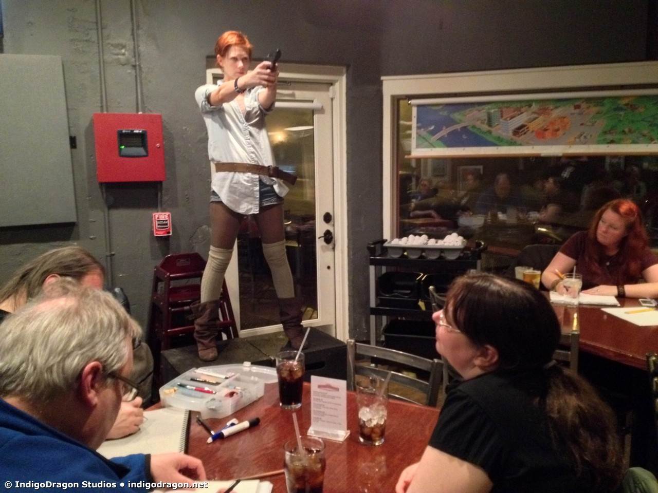 March 2015 Drink & Draw 6