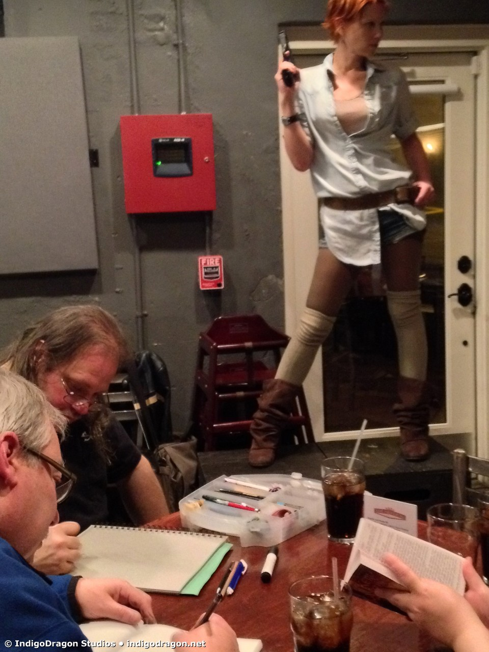 March 2015 Drink & Draw 12