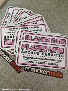 Player One Stickers